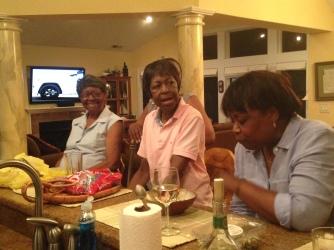 Grandma, Aunt Jean, Aunt Sharon
